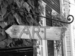 Art sign, Provincetown, MA