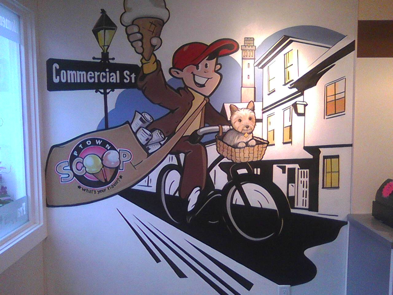 Visit provincetown for Cape cinema mural