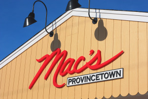 Mac's Provincetown Building Sign
